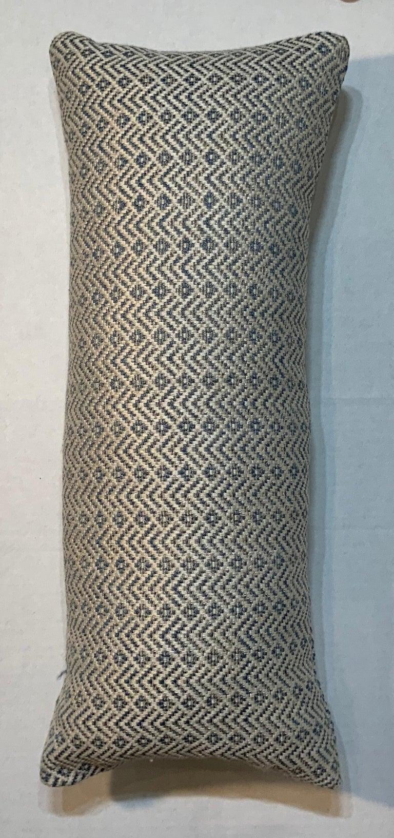 Geometric Motif Pillow For Sale 1