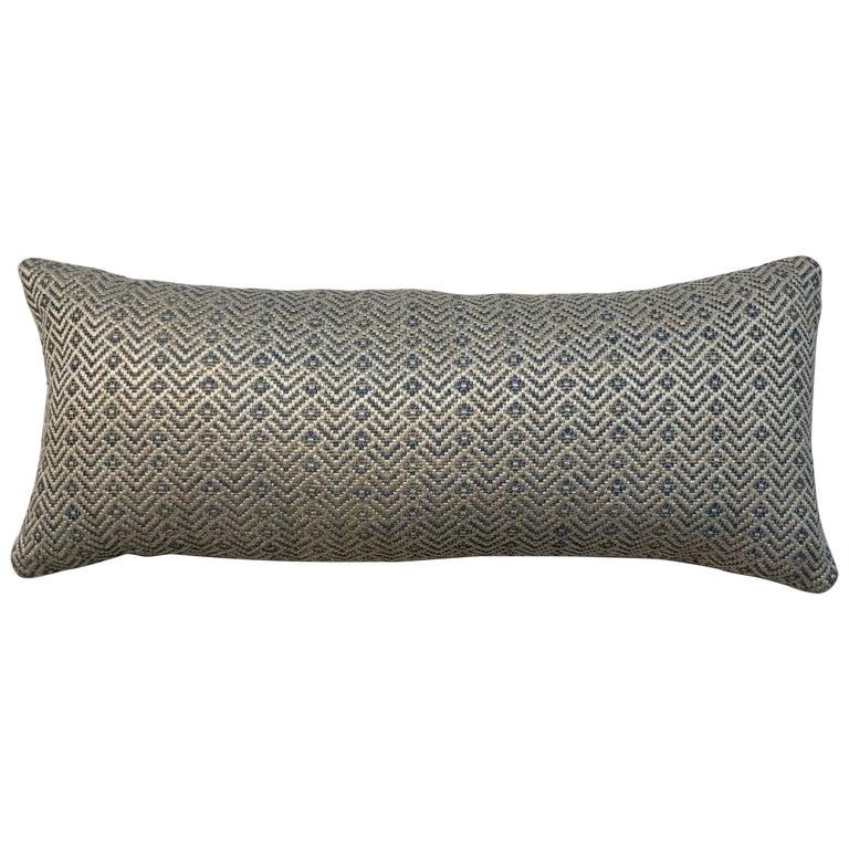 Geometric Motif Pillow For Sale