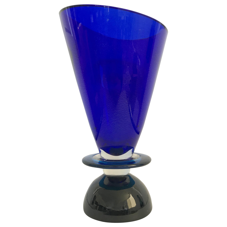 Geometric Murano Vase