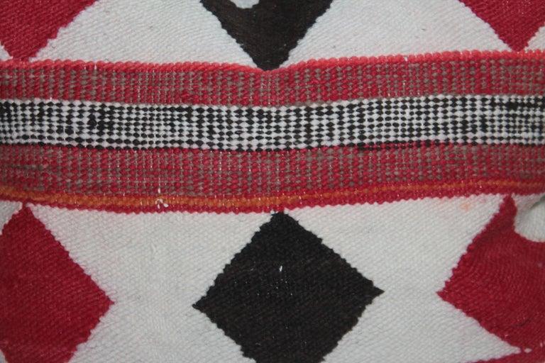 Adirondack Geometric Pair of Navajo Indian Pillows For Sale