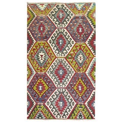 Geometric Tribal Turkish Kilim