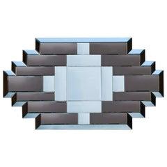 Geometric Vintage Mirror