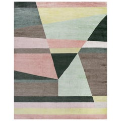 Geometric Vision Rug by Ilaria Ferraro