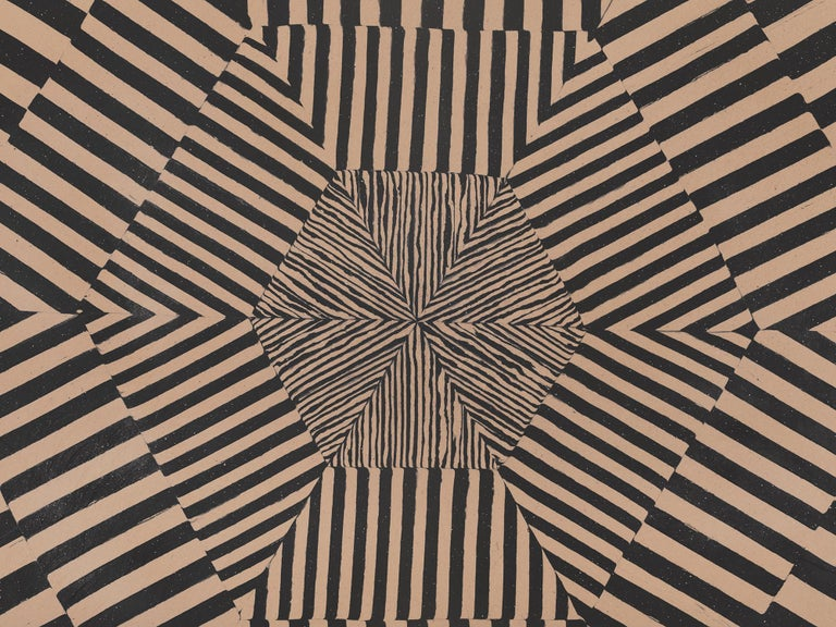 Inlay Geometric Wall Art by Cody Hoty For Sale