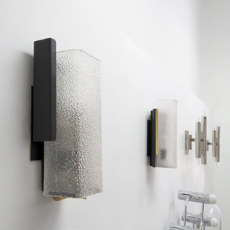 Geometric Wall Light by Arlus In Good Condition For Sale In Los Angeles, CA
