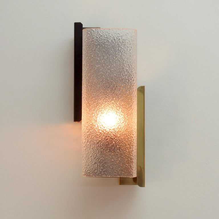 Geometric Wall Light by Arlus For Sale 1