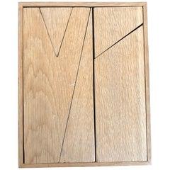 Betty Gold Geometric Puzzle Sculpture, 1989