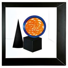 """Geometrie"" Wall Sculpture Murano Glass, Giampaolo Seguso"