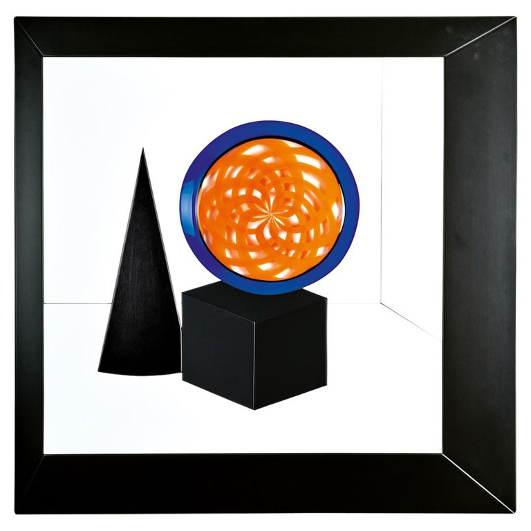 """Geometrie"" Wall Sculpture Murano Glass, Giampaolo Seguso For Sale"