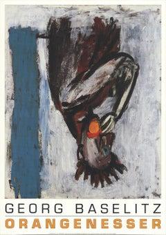 1992 After Georg Baselitz 'Orangenesser' Offset Lithograph