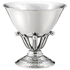 Georg Jensen 17A Handcrafted Sterling Silver Bowl by Johan Rohde