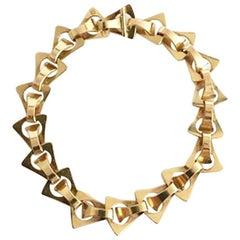 Georg Jensen 18 Karat Gold Bracelet No 1147
