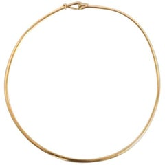 Georg Jensen 18 Karat Gold Torun Necklace No 903