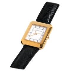 Georg Jensen 18 Karat Gold Vermeil Watch Designed by Lene Munth