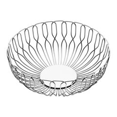 Georg Jensen Alfredo Small Breadbasket in Stainless Steel by Alfredo Häberli