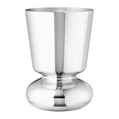 Georg Jensen Alfredo Small Vase in Stainless Steel Finish by Alfredo Häberli