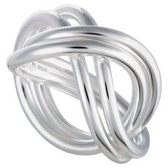 Georg Jensen Alliance Silver Double Ring