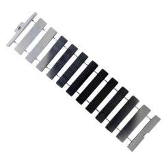 Georg Jensen Aria Wide Sterling Silver Bracelet