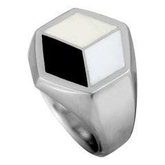 Georg Jensen Art Deco Silver Ring