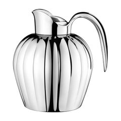 Georg Jensen Bernadotte Thermo Jug in Stainless Steel by Sigvard Bernadotte