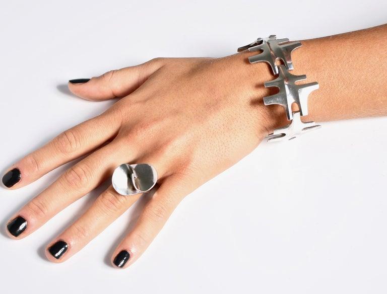 Georg Jensen Bracelet Designed by Ibe Dhalquist Denmark Georg Jensen Jewelry For Sale 1