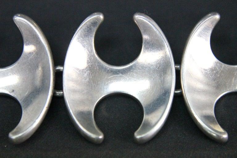 Georg Jensen Bracelet Henning Koppel Sterling Silver No 130B Denmark 3