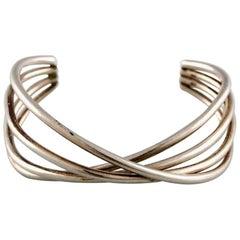 Georg Jensen Bracelet, Model Double Alliance, Made in Sterling Silver
