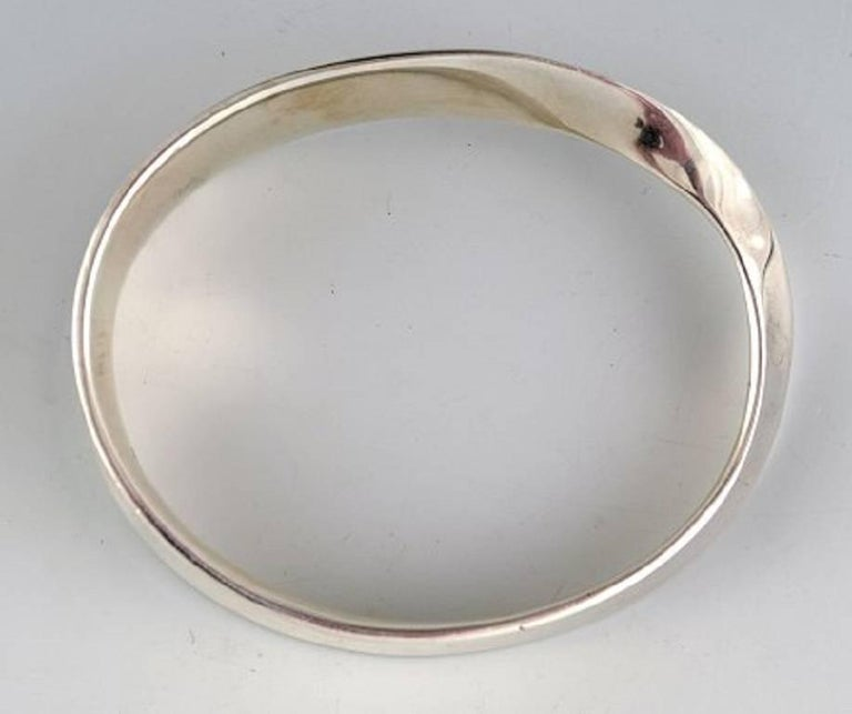 Georg Jensen Bracelet, Vivianna Torun Bülow-Hübe Sterling Silver In Excellent Condition For Sale In bronshoj, DK