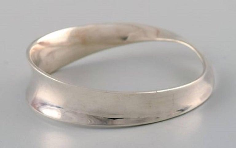 Women's Georg Jensen Bracelet, Vivianna Torun Bülow-Hübe Sterling Silver For Sale