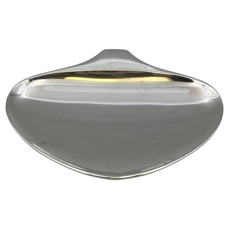 Georg Jensen by Henning Koppel Sterling Silver Trinket Dish in Fish Form For Sale
