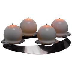 Georg Jensen Candelabra for Four Candles, Denmark