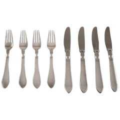 Georg Jensen Continental Cutlery, Dinner Service for Four People