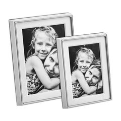 Georg Jensen Deco Picture Frame Set in Stainless Steel