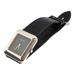 Georg Jensen Denmark Sterling Silver Watch Designed by Lene Munth