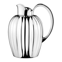 Georg Jensen Large Bernadotte Thermo Jug in Steel Finish by Sigvard Bernadotte