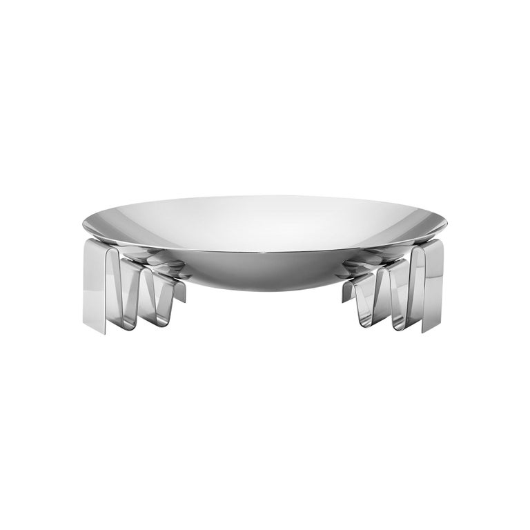 Georg Jensen Large Frequency Bowl by Kelly Wearstler For Sale