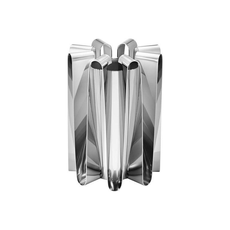 Georg Jensen Large Frequency Vase by Kelly Wearstler For Sale