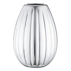 Georg Jensen Legacy High Vase in Stainless Steel Finish by Philip Bro Ludvigsen