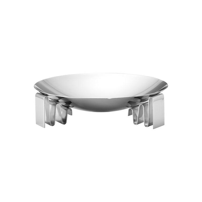 Georg Jensen Medium Frequency Bowl by Kelly Wearstler For Sale