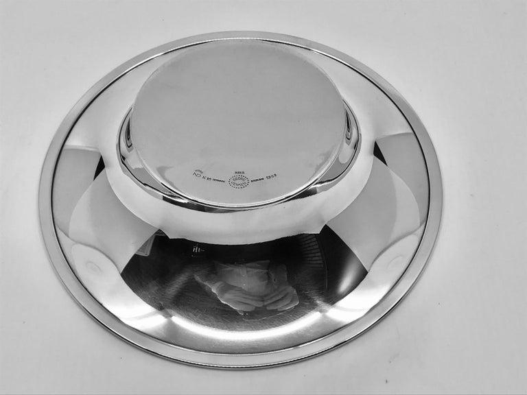 Danish Georg Jensen Modern Bowl 1282 by Nanna Ditzel For Sale
