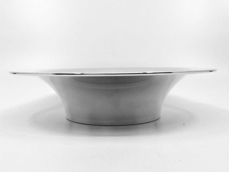 Georg Jensen Modern Bowl 1282 by Nanna Ditzel In Good Condition For Sale In Hellerup, Hellerup
