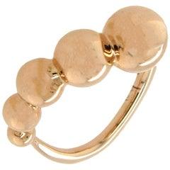 Georg Jensen Moonlight Grapes Rose Gold Ring