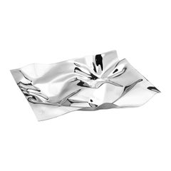 Georg Jensen Panton Medium Tray in Stainless Steel by Verner Panton