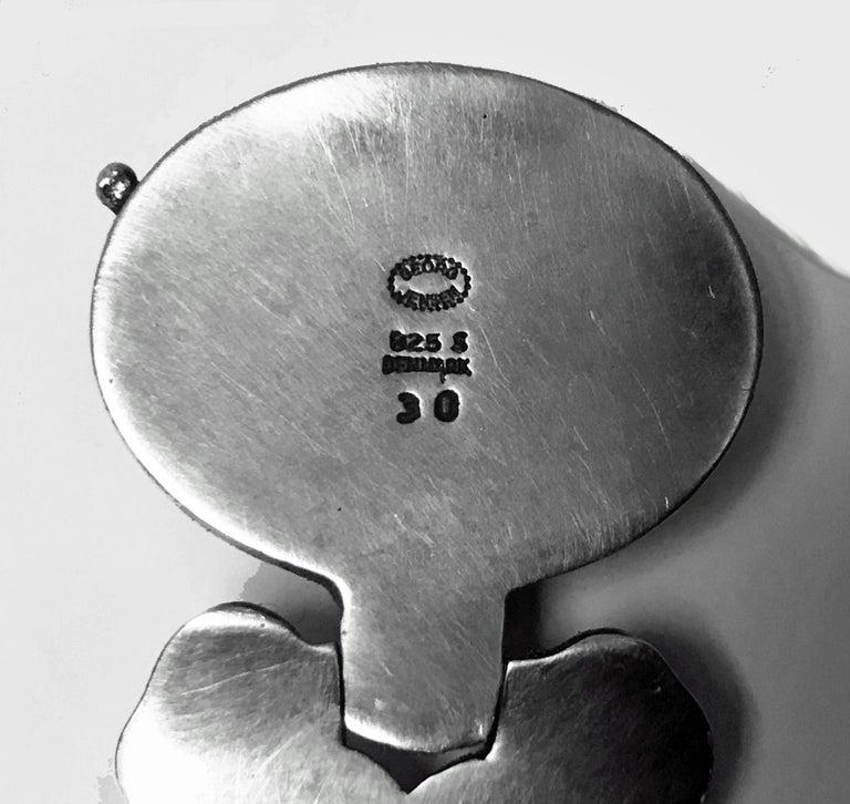 Georg Jensen 'Paris' Model Sterling Bracelet, Denmark, circa 1945 2