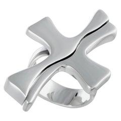 Georg Jensen Regitze Overgaard Sterling Silver Cross Ring