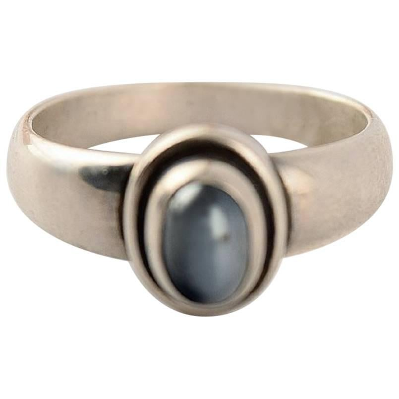 Georg Jensen Ring of Sterling Silver after 1945