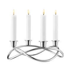 Georg Jensen Season Candleholder in Stainless Steel by Maria Berntsen