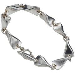 Georg Jensen Silver Butterfly Bracelet 104 A Denmark