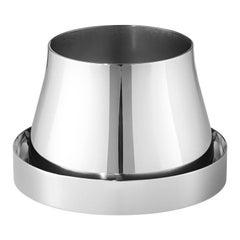 Georg Jensen Small Terra Pot in Stainless Steel