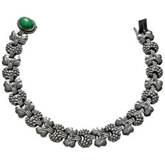Georg Jensen Sterling Paris Model Necklace Denmark, circa 1945